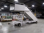 Ready to Ship, Electric Assisted Towable Aircraft Stairs, 96- 220 inches, Widebody Service Height