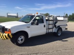 Lavatory Trucks, Diesel Aircraft Lavatory Truck; 400 W/ 260 B  w/ 137 Inch Lift