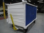 Ready to Ship, Used Wasp Baggage Cart; Covered; 5,000-lbs Capacity