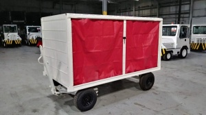 Used Left-Side Open Bentz Baggage Cart