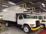 Ford, F800 Aircraft Catering Truck, 116-Inch Lift