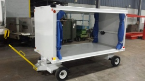 Parkan Covered Baggage Cart; OCBC 5010