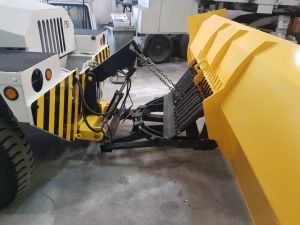 NMC- Wollard MB-4 Aircraft Tug/ Snow Plow Truck: Front Plow Blade Hitch