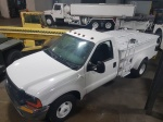 Lavatory Trucks, F350 Aircraft Lavatory Truck; 250 W/ 200 B