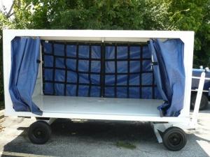 Aircraft Luggage Cart